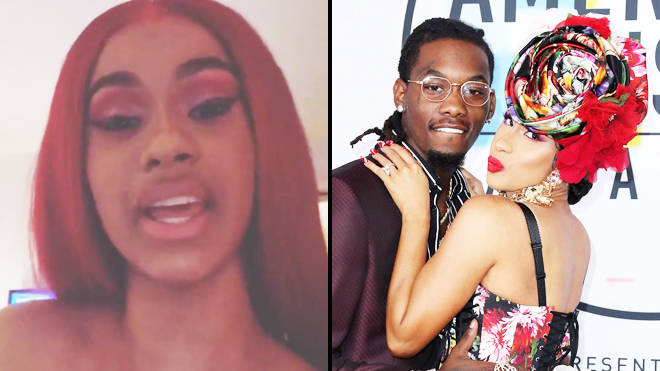 Cardi B and Offset have split