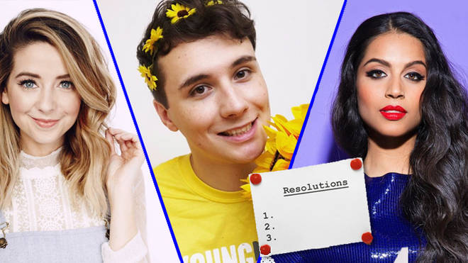 Zoella, Daniel Howell, Lilly Singh
