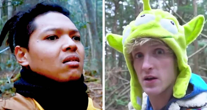Qorygore japan suicide forest logan paul