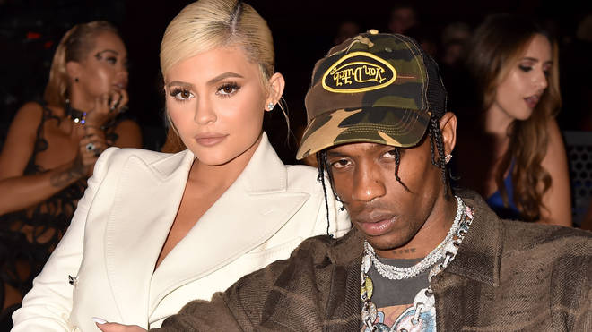 Kylie Jenner Travis Scott at the 2018 MTV VMAs