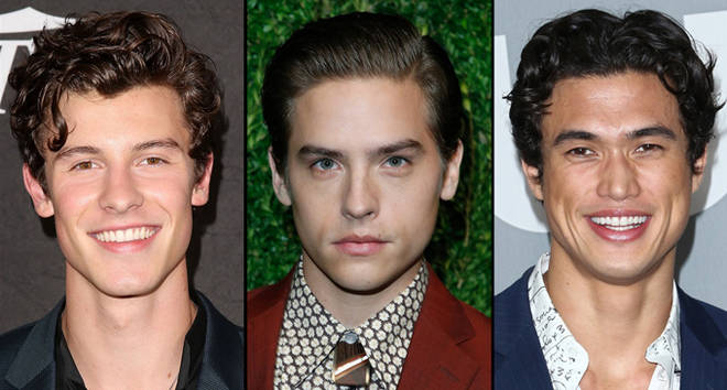 Shawn Mendes/Dylan Sprouse/Charles Melton on red carpet