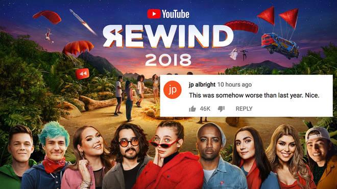 youtube rewind 2018 bad