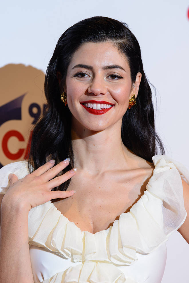 Marina Diamandis at the Capital FM Jingle Bell Ball. Marina has now finished recording her as-yet-untitled 4th album