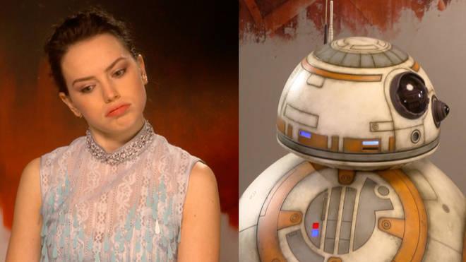 Daisy Ridley, BB-8
