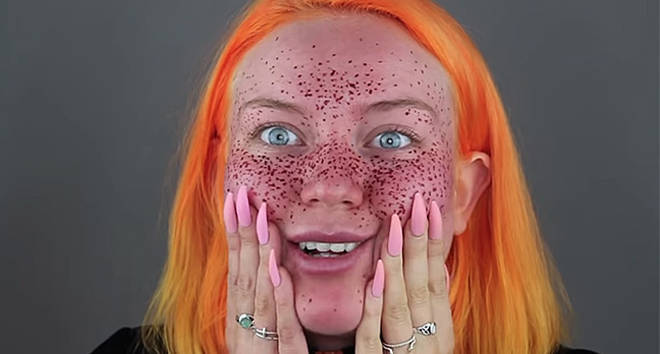 This Youtuber Gave Herself Faux Freckles With Permanent Henna And