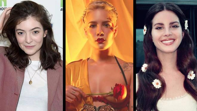 Lorde, Halsey, Lana Del Rey
