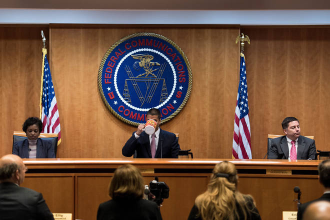FCC Chairman Ajit Pai at Net Neutrality hearing
