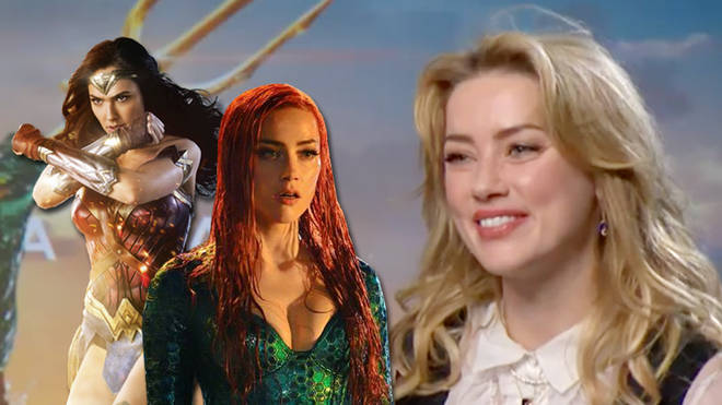 amber heard aquaman interview