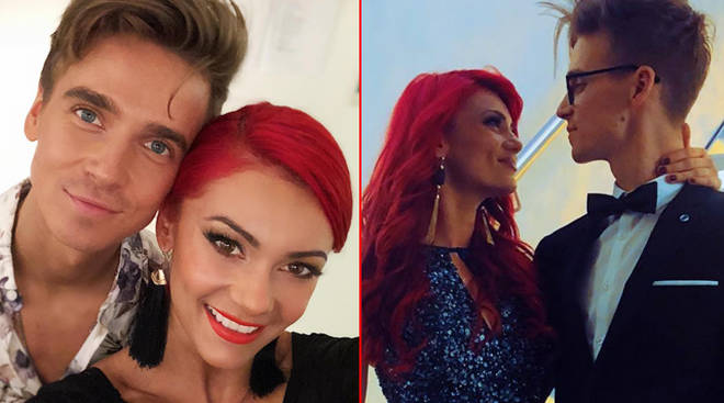Joe Sugg and Dianne Buswell confirmed their relationship on Twitter