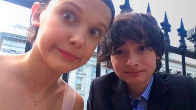 Millie Bobby Brown Finn Wolfhard