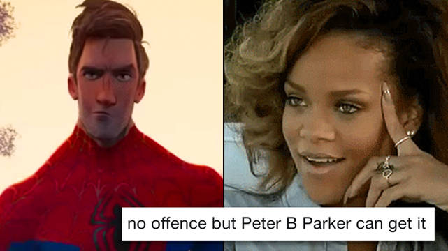 Everyone is thirsting over Peter B Parker from