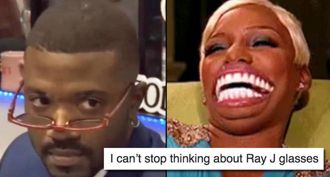 Ray J on The Breakfast Club/Nene Leakes laughing