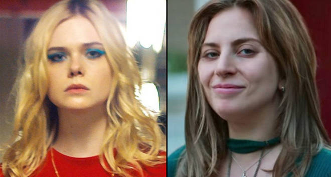 Elle Fanning in Teen Spirit/Lady Gaga in A Star is Born