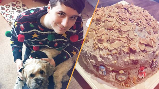 Daniel Howell's Dog Colin