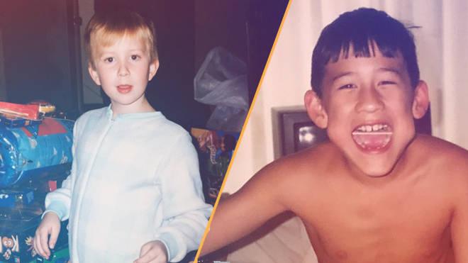 Tyler Oakley and Markiplier childhood photos