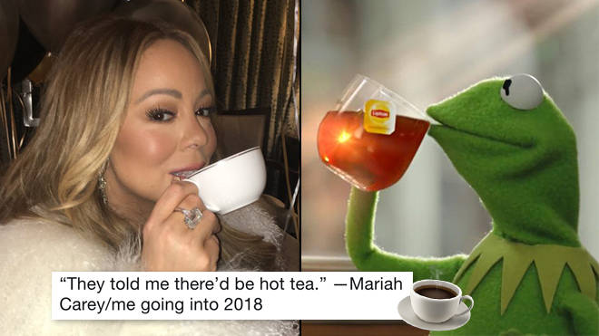 Mariah Carey Tea Meme