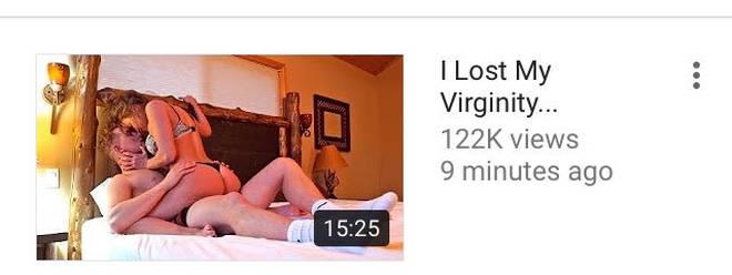 "Jake Paul&squot;s ""I Lost My Virginity"" video thumbnail"