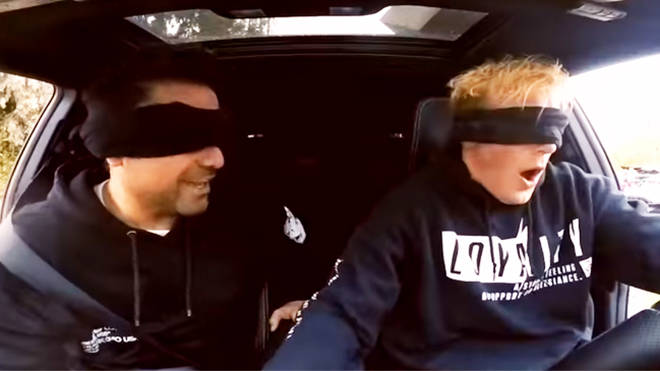 Jake Paul Bird Box Challenge