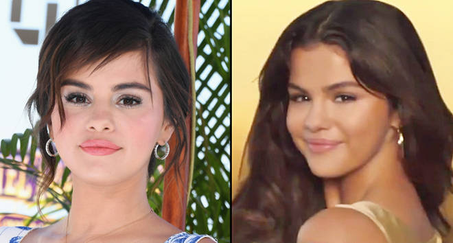 Selena Gomez attends Columbia Pictures And Sony Pictures Animation's World Premiere/in Pantene comercial