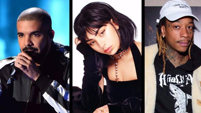 Drake, Charli XCX, Wiz Khalifa