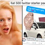Fiat 500 Twitter