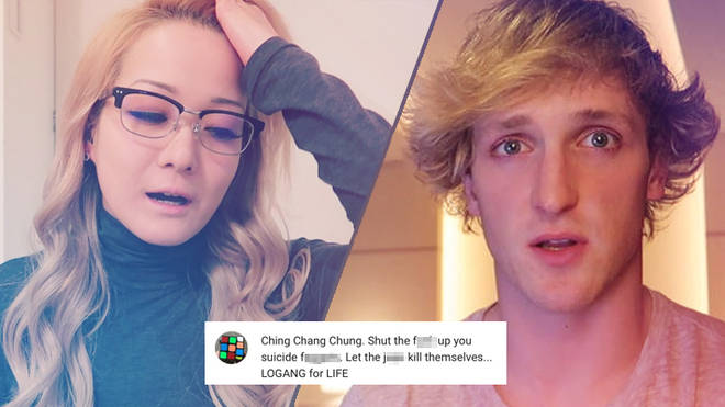 Logan Paul and Reina Scully
