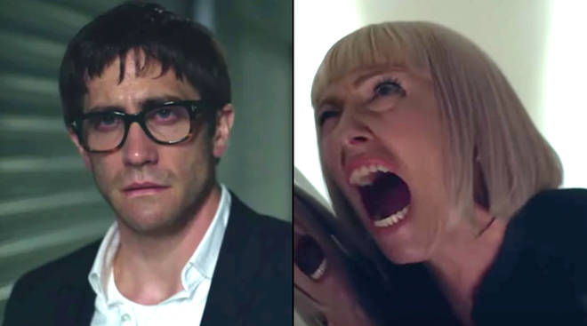 Jake Gyllenhaal and Toni Collette in Netflix's Velvet Buzzsaw