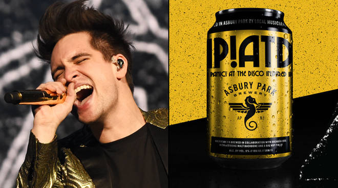 Panic! At The Disco have launched their own beer