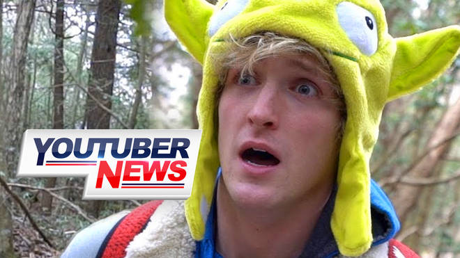 youtuber news Logan Paul's 'suicide forest' video