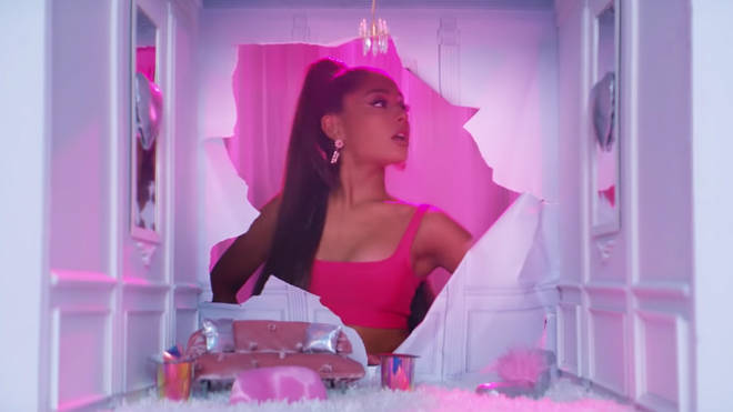 Ariana Grande's '7 rings' video: 'Alice in Wonderland'