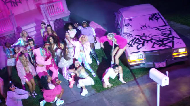 Ariana Grande's '7 rings' video: car