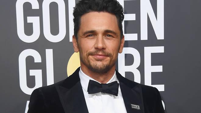 James Franco at the Golden Globes
