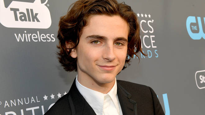 Timothee Chalamet Critics Choice Awards