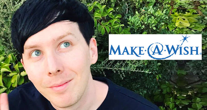 Phandom raise money for Make A Wish for Phil Lester's birthday