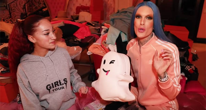 Jeffree Star and Bhad Bhabie review video