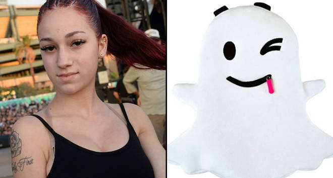 Danielle Bregoli attends the Day N Night Festival/Snapchat ghost backpack