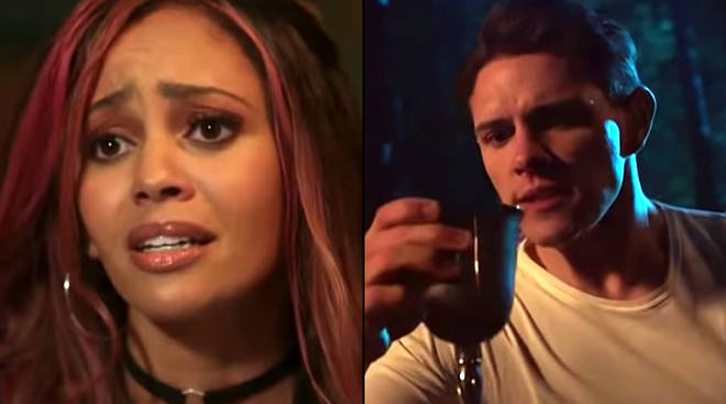 Toni Topaz and Kevin Keller in Riverdale season 3, episode 12 'Bizzarodale'