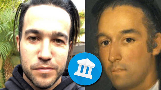Pete Wentz Using The Google Arts And Culture App