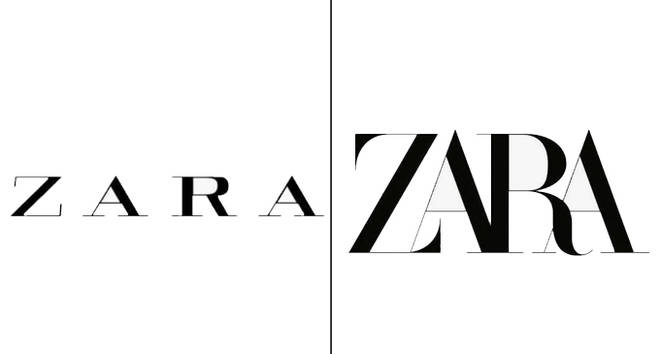 "Zara&squot;s new logo is making people feel ""claustrophobic"""
