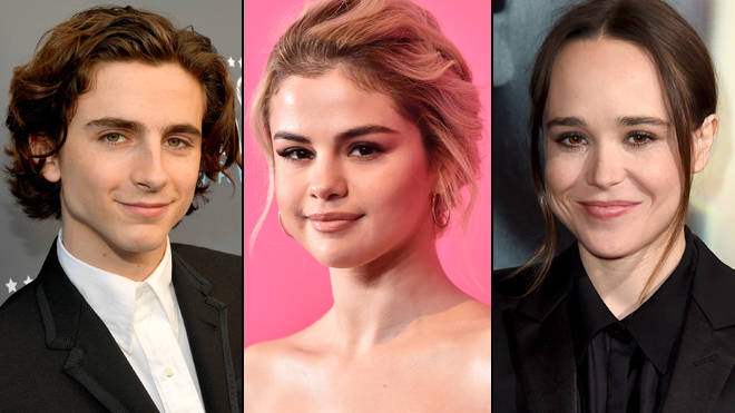 Timothee Chalamet, Selena Gomez, Ellen Page