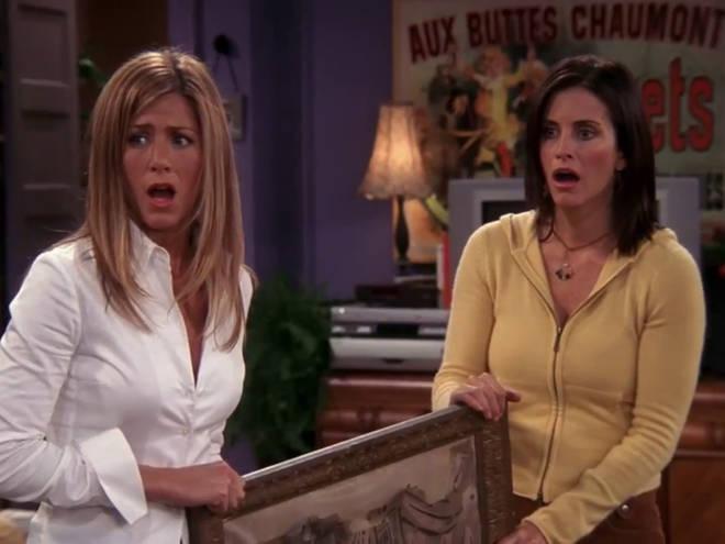 Monica and Rachel friends