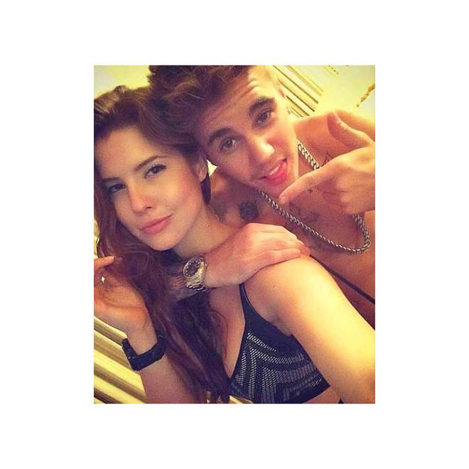 Amanda Cerny dating Justin Bieber