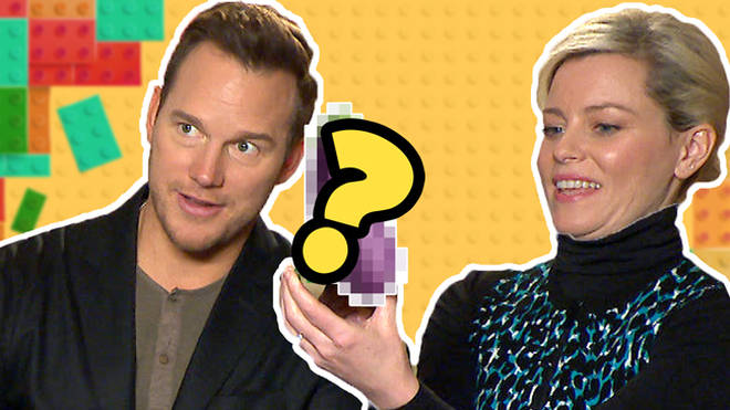 Chris Pratt Elizabeth Banks Lego Movie 2