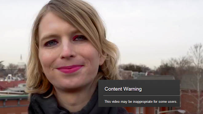 YouTube restricts Chelsea Manning campaign video
