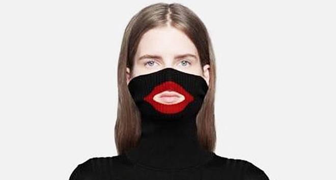 """Gucci """"blackface"""" wool balaclava jumper."""
