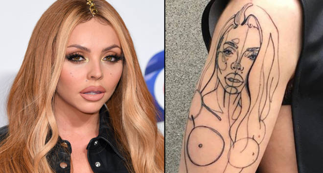 Jesy Nelson of Little Mix attends the Capital FM Jingle Bell Ball at The O2 Arena/Jesy Nelson tattoo