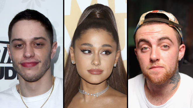 Ariana Grande's 'Ghostin' lyrics are about Mac Miller and Pete Davidson