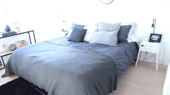 james charles house bedroom