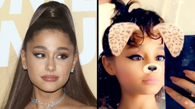Ariana Grande shows fans her natural, short, curly hair on Twitter