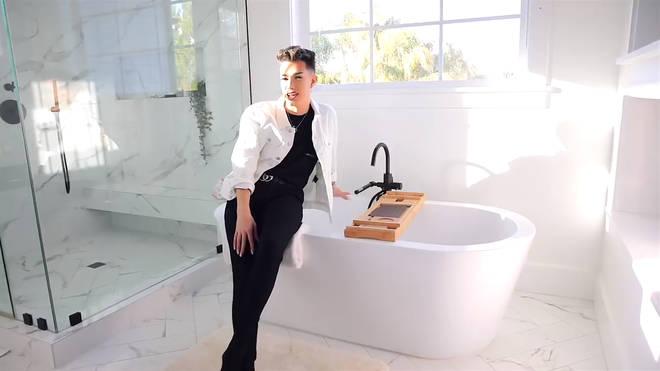 james charles bathroom